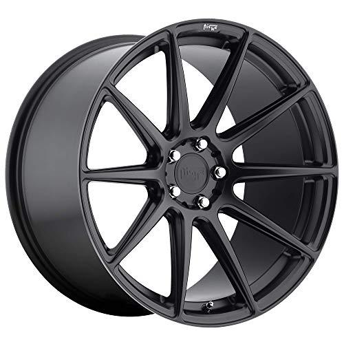 Matte Black Wheel Rim 9x8.5 5x112 +42mm