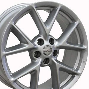 19x8 Wheel Fits Nissan Nissan Maxima Style Silver Rim