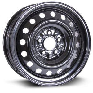 RTX, Steel Rim Wheel, 16X6.5, 5X114.3, 67.1, 40, black finish