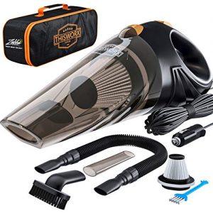 Portable Car Vacuum Cleaner: High Power Corded Handheld Vacuum