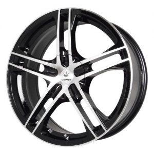 Wheels Protocol Black Wheel with Machined Lip