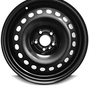 Wheel For 2014-2018 Jeep Cherokee 17 Inch 5 Lug Black Steel Rim