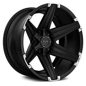 "Satin Black Wheel Rim 22"" Inch -2mm"