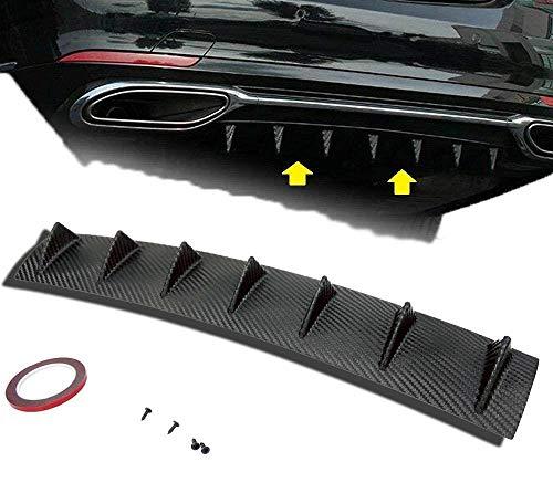 S SIZVER 1 x Carbon Fiber Paint Style Plastic Rear Lower