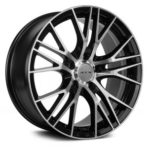 RTX Vertex, 18X8 Black MACHINED
