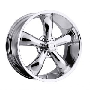 Chrome 18 Inch Rim x 8.5 - (5x4.75) Offset (-6) Wheel Finish