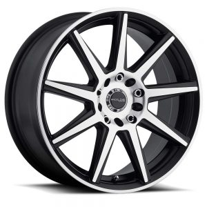 "16"" Inch Wheel Rim 5X115/5X110 40mm 144M Storm MC - Machined"