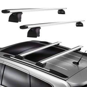 Roof Rack 2011-2020 Jeep Grand Cherokee Model with Grooved Side Rails