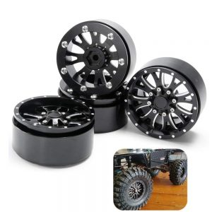 "2.2"" Beadlock Wheels/Rims Aluminum Alloy"