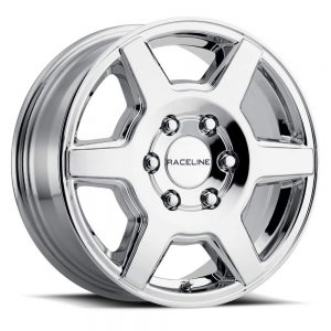 "Wheels 16"" Inch Wheel Rim Surge 16X6.5 45mm 5X130 Chrome"