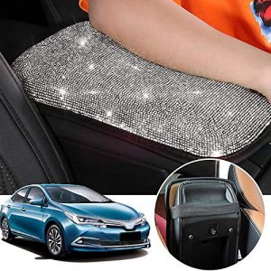 OMNFAS Bling Car Armrest Cover Console Protective