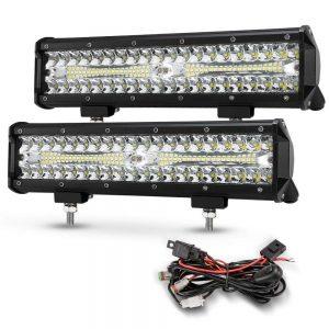 12 Inch Led Light Pods, 2Pcs 300W Off Road Driving LED
