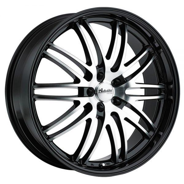 22 Inch Rim x 10 Wheel Finish - gloss black machined face