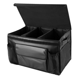 Mieziba Car Trunk Organizer, Collapsible Waterproof Cargo Storage Containers
