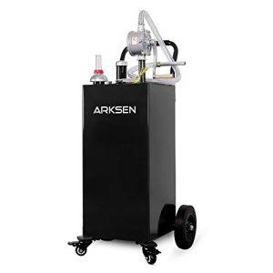 Arksen 35 Gallon Portable Gas Caddy Fuel Storage
