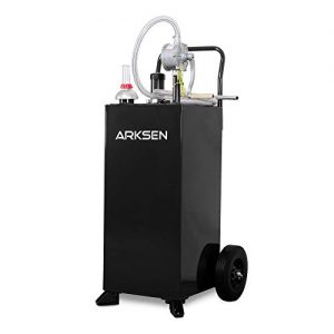 ARKSEN 30 Gallon Portable Automotive Fuel Transfer