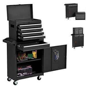 Big Rolling Tool Chest 5-Drawer High Tool Chest