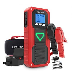 JUMTOP Car Battery Jump Starter for up to 8.0L Gas 6.5L Diesel Engine