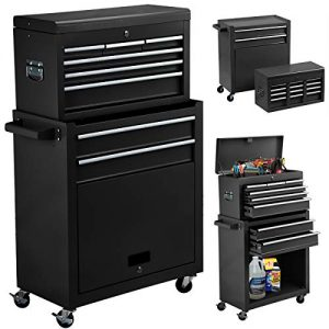 High Capacity 8-Drawer Rolling Tool Chest