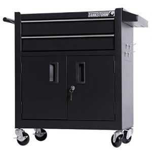 TANKSTORM Tool Chest Heavy Duty Cart Steel Rolling Tool Box