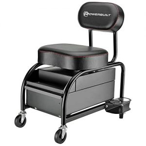 Powerbuilt Professional Car Detailers Mechanics Roller Seat