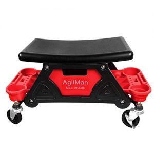 AgiiMan Mechanic Stool - Creeper Seat