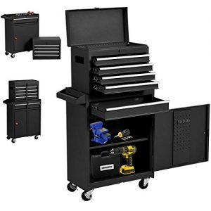 Big Rolling Tool Chest, Tool Chest with Drawers and Wheels Tool