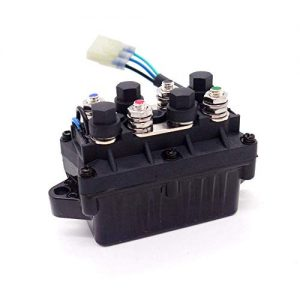 WonVon Universal ATV Winch Solenoid Switch Relay Assembly