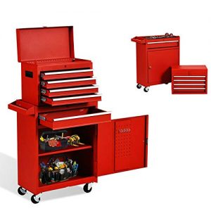 5-Drawer Tool Chest Tool Box,Rooling Tool Chest
