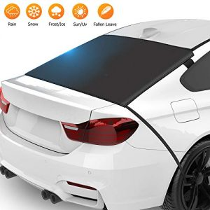 ZSVJYLO Car Rear Windshield Snow Ice Cover Protector