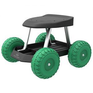 Pure Garden Garden Cart Rolling Scooter