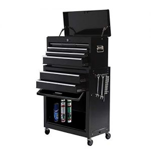 Big Rolling Tool Chest 8-Drawer High Tool Chest