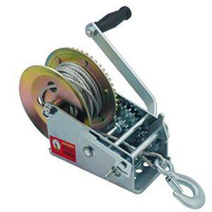 TYT 3200lbs Hand Winch Crank Gear Winch