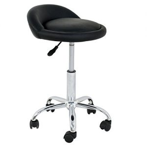 Adjustable Hydraulic Rolling Swivel Stool Chair Salon