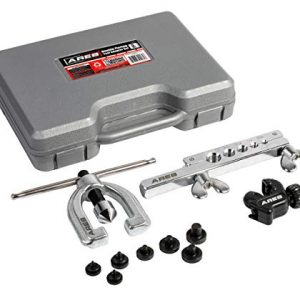 Double Flaring Tool Set with Extra Adapters