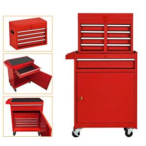 High Capacity 5-Drawer Rolling Tool Chest
