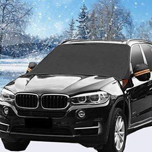 HEHUI Car Windshield Snow Cover, 4 Layers