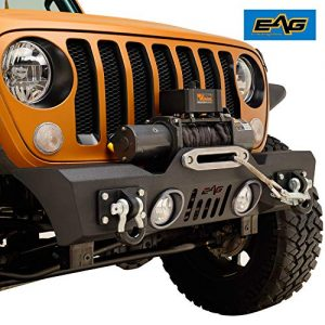 EAG Stubby Front Bumper Black Textured