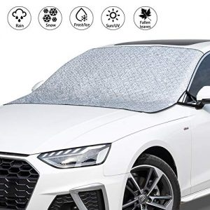 VOHQPEI Car Windshield Hail Cover with 4 Layers Protection