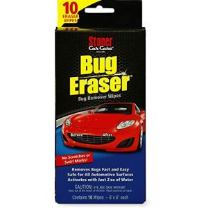 Car Care Bug Eraser Car-Cleaning Wipes