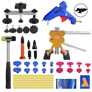 Super PDR Paintless Dent Repair (PDR Tools) Kit