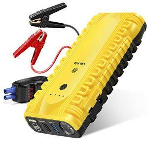 Starter Portable, 1500A Peak 15000mAh 12V Auto Jump