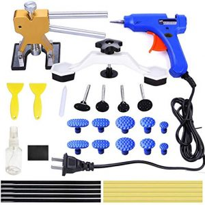 ARISD 32Pcs Auto Body Paintless Dent Removal Tools Kit