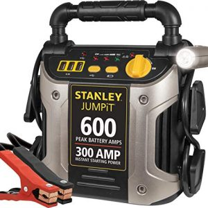 Portable Power Station Jump Starter: 600 Peak/300 Instant Amps