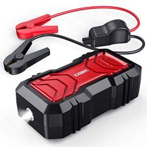 SANROCK 2500A Peak Portable Car Battery Jump Starter
