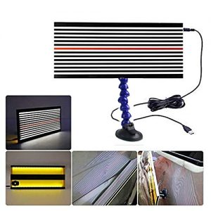 HiYi LED Stripe Line Board Paintless Dent PDR Fix Tools