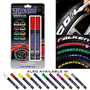 Tire Ink | Paint Pen for Car Tires Carwash Safe