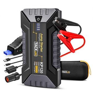 Jump Starter for up to 8.0L Gas and 6.0L Diesel Engines