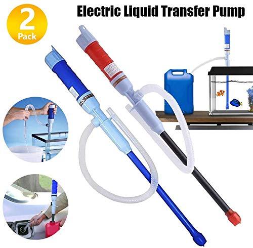 2 Pcs Multi-Use Siphon Fuel Transfer Pump Kit