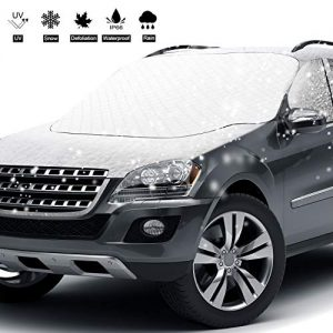 Sungkeen Car Windshield Snow Cover with 4 Layers Protection